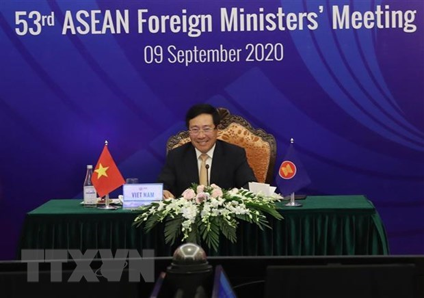 ASEAN 2020: Vietnam lauded for leading ASEAN Community through challenges hinh anh 1