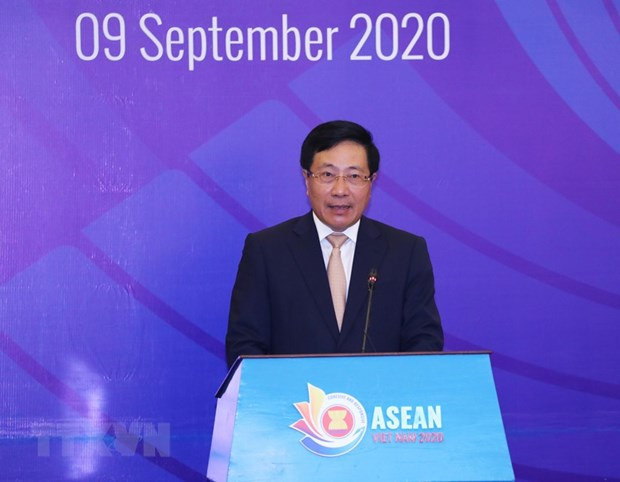Speech by Deputy PM, Foreign Minister Pham Binh Minh at AMM-53 opening session hinh anh 1