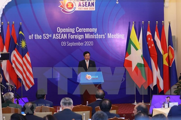 AMM-53, related meetings begin hinh anh 1