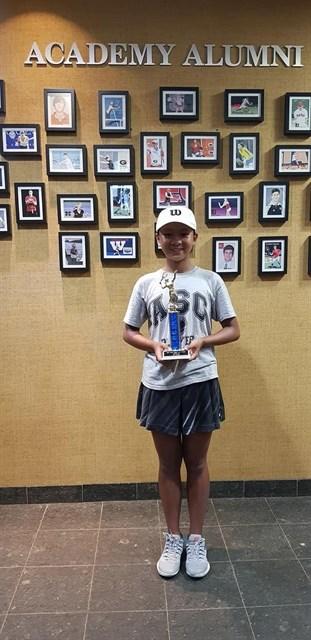 Vietnamese teenage player wins US tennis tournament hinh anh 1