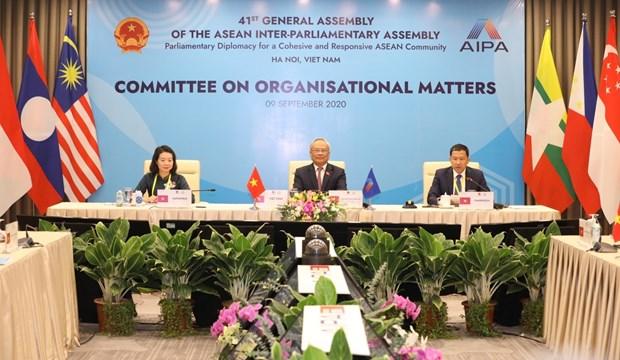 AIPA-41: NA Vice Chairman calls on ASEAN, AIPA to stay united hinh anh 1