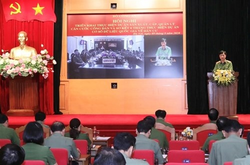 Ministry of Public Security aims to issue 50 million identification cards by next July hinh anh 1