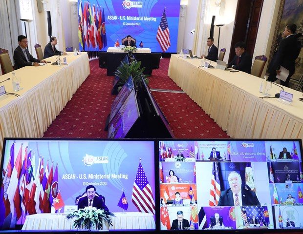 AMM-53, related meetings enter second working day hinh anh 1
