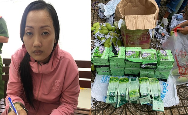Large ring trafficking drugs from Cambodia busted hinh anh 1