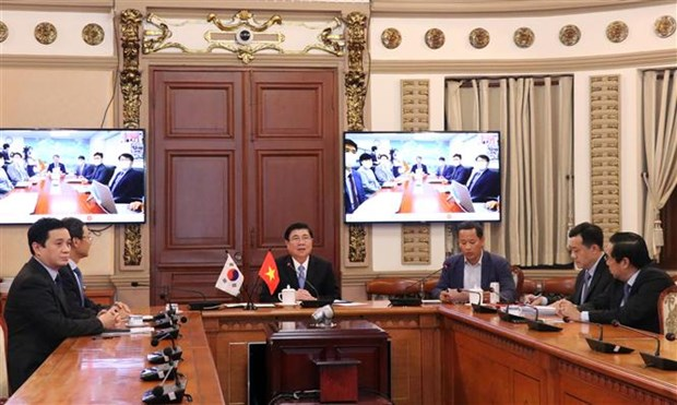 HCM City, Busan to set up virtual inter-sector working group hinh anh 1