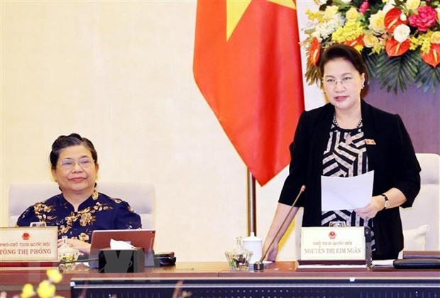 NA Standing Committee's 48th session opens hinh anh 1