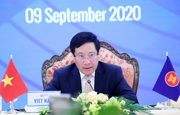 ASEAN 2020: 10th Meeting of East Asia Summit Foreign Ministers held hinh anh 1