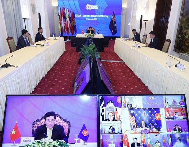 ASEAN, Australia look toward stronger partnership hinh anh 1