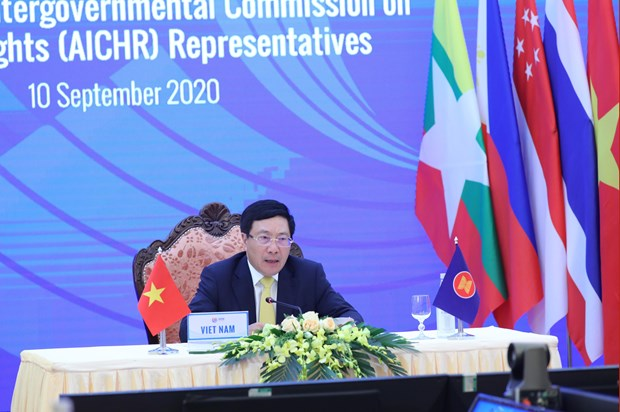 ASEAN Intergovernmental Commission on Human Rights urged to better performance hinh anh 1