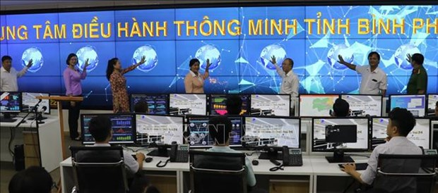 Binh Phuoc opens intelligent operations centre hinh anh 1