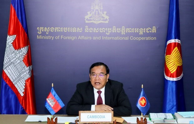 Cambodia suggests creation of travel corridors at AMM 53 hinh anh 1