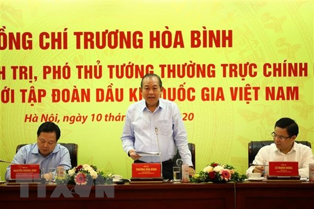 Deputy PM urges PetroVietnam to boost exploration, exploitation capacity hinh anh 1