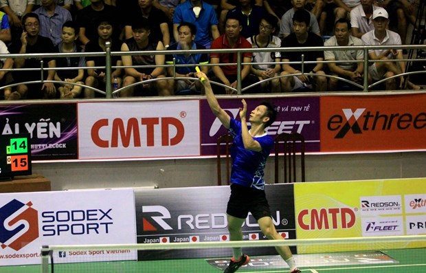 Vietnamese players in top 50 world badminton rankings hinh anh 1