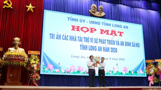 Donors greatly contribute to ensuring social security in Long An hinh anh 1