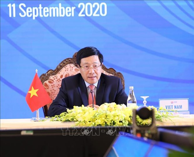 AMM 53, related meetings enter last working day hinh anh 1