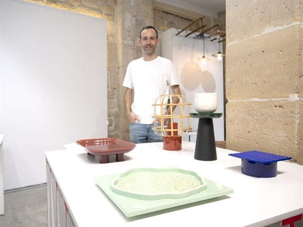 Vietnamese lacquer products debut at Paris Design Week hinh anh 1