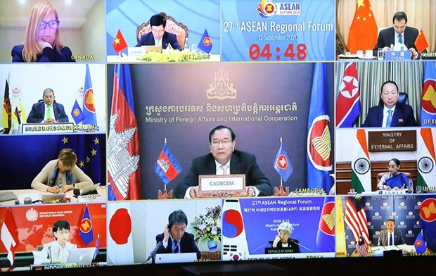 AMM 53: Cambodia reiterates stance on East Sea issue hinh anh 1