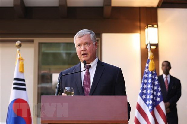 AMM 53: US stresses law-based international order in East Sea hinh anh 1
