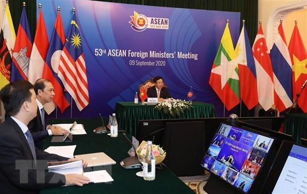 EU Ambassador to ASEAN appreciates Vietnam's efforts to host AMM 53, related meetings hinh anh 1