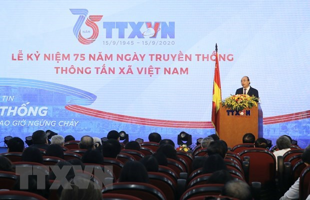 PM: VNA needs to maintain position as Party, State's trustworthy information centre hinh anh 1