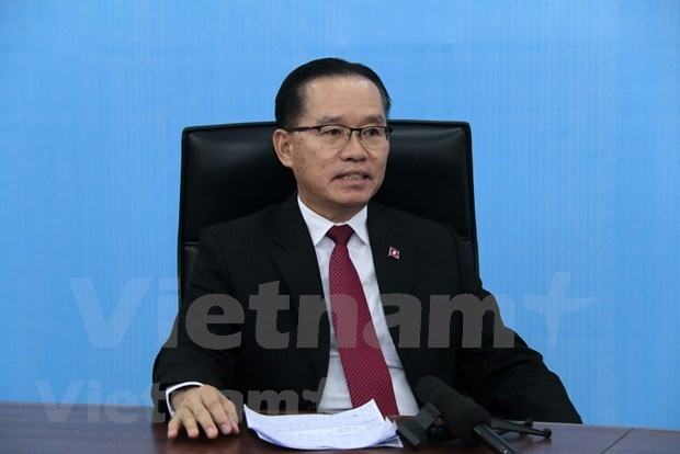 Laos lauds Vietnam's hosting of AMM 53 hinh anh 1