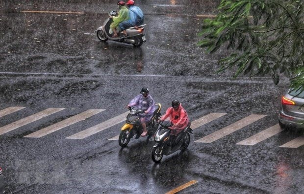 Heavy rains forecast nationwide hinh anh 1