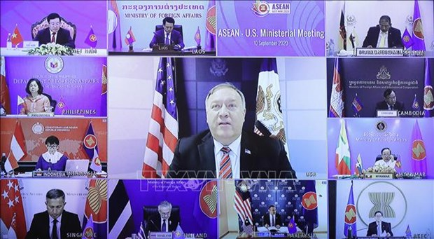 ASEAN, US sign Regional Development Cooperation Agreement hinh anh 1