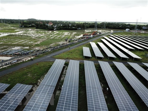 An Giang: Work on second phase of Sao Mai Solar Power Plants starts hinh anh 1