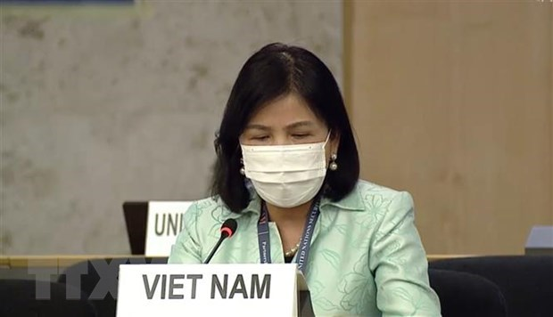 Vietnam attends UN Human Rights Council's 45th regular session hinh anh 1