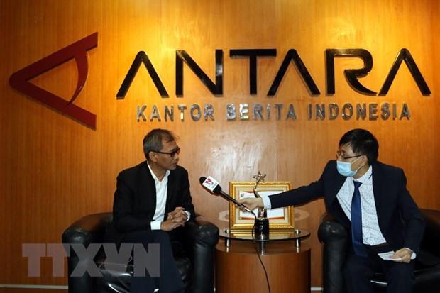 Antara President Director: VNA at forefront of providing correct information hinh anh 1