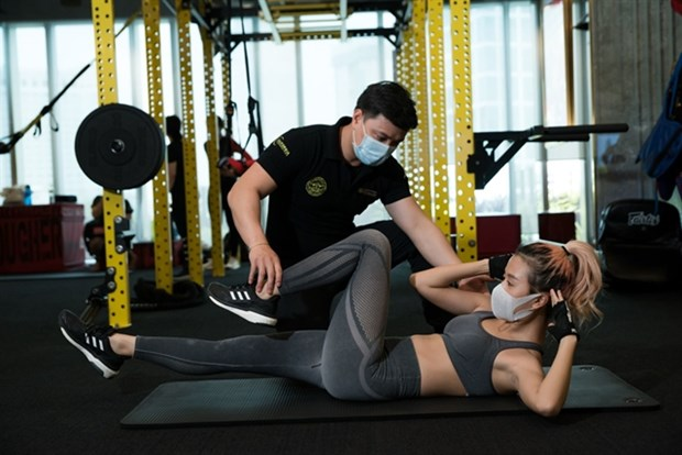 Gymnasiums spring up in Vietnam amid greater focus on health hinh anh 1