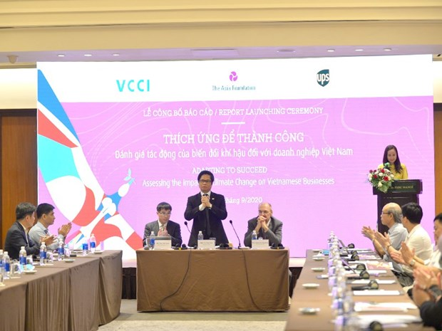 Climate change compels Vietnamese firms to restructure: Report hinh anh 1