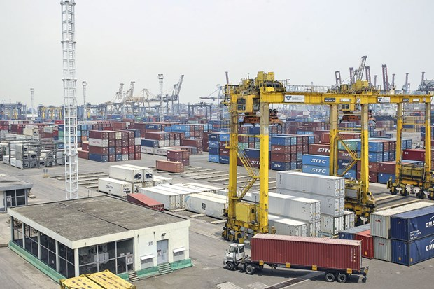 Indonesia posts 2.33 billion USD in trade surplus in August hinh anh 1