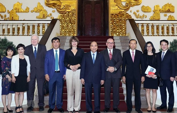 Vietnam facilitates investment of EU firms: PM hinh anh 1