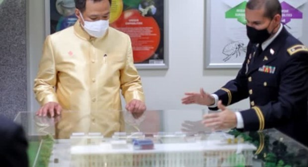 Thailand, US cooperate in HIV, COVID-19 vaccine development hinh anh 1