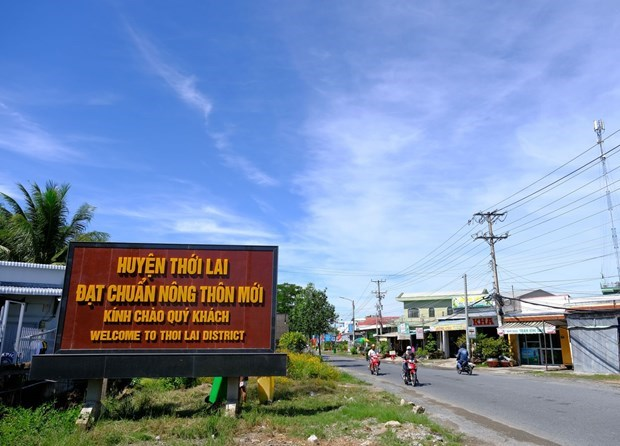 Can Tho city finishes building new-style rural areas hinh anh 1