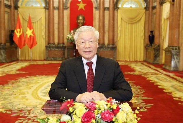 Vietnamese leaders to send messages to UNGA 75 high-level meetings hinh anh 1