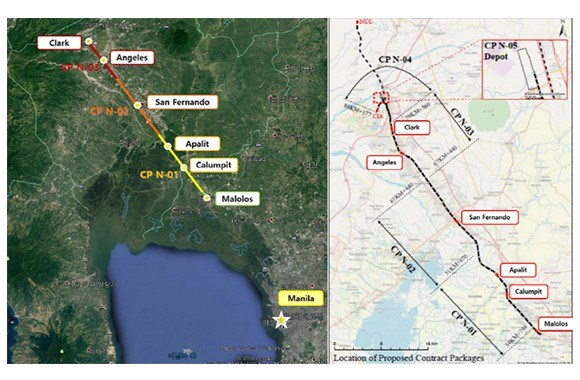 RoK firm wins contract for No.1 section of Philippines' north-south railway project hinh anh 1