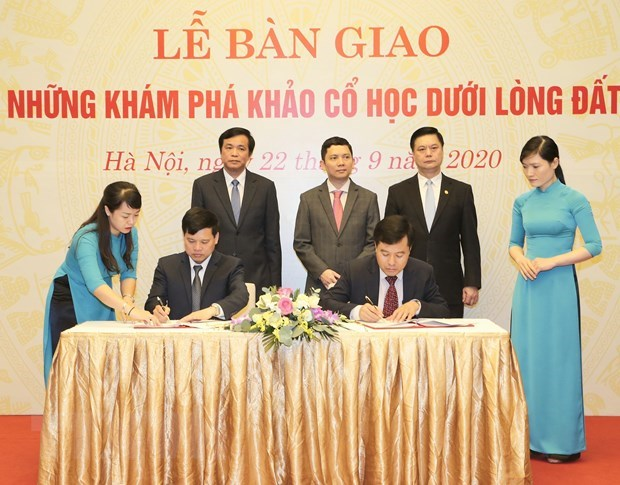 Archaeological discoveries prove geographical location of NA House in past hinh anh 1