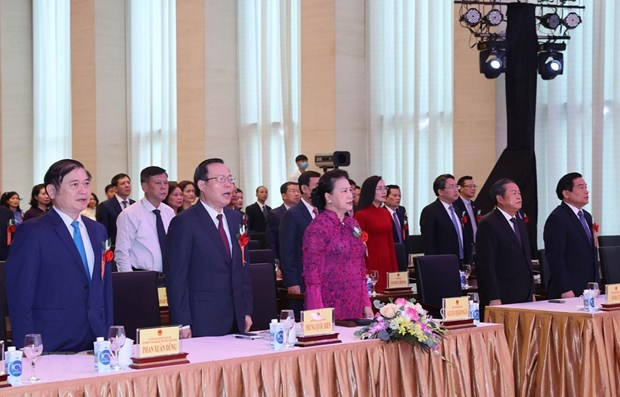 NA leader hails outcomes of NA Office patriotism emulation movements hinh anh 1