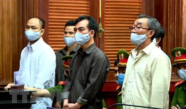Severe penalties handed down to terrorists hinh anh 1
