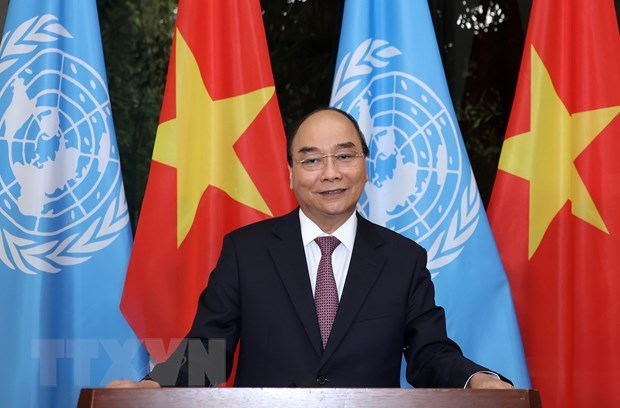 PM sends message to high-level meeting to commemorate UN's 75th anniversary hinh anh 1