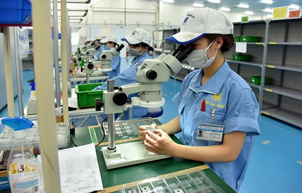 Bac Ninh industrial parks draw in foreign capital despite COVID-19 hinh anh 1