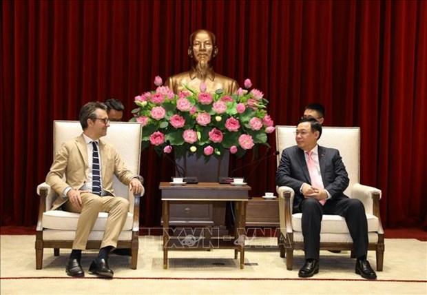 EU a significant economic, trade partner: Hanoi leading official hinh anh 1