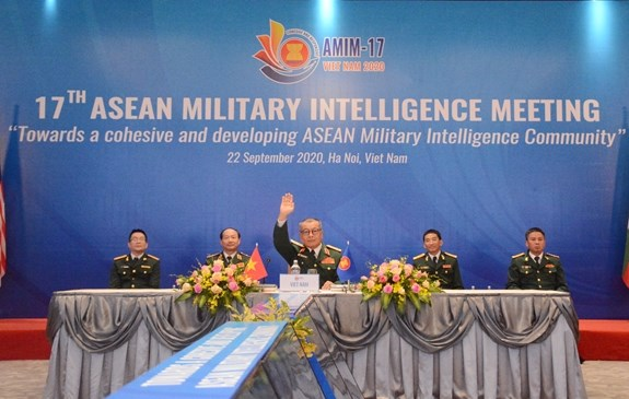 Vietnam proposes establishment of ASEAN military intelligence community hinh anh 1