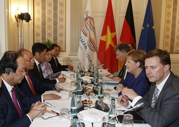 Vietnam, Germany enjoy fruitful cooperation for 45 years hinh anh 1