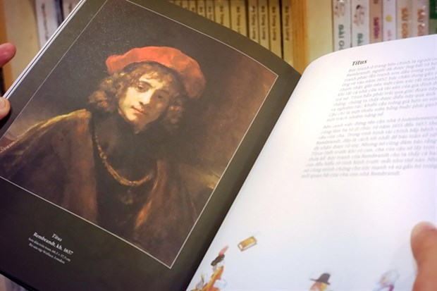 Books on European art icons published hinh anh 1