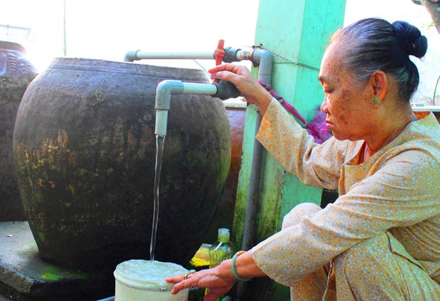 Long An: 65 pct. of rural households to access clean water by 2025 hinh anh 1