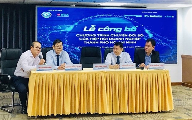 HCM City's SMEs assisted in digital transformation hinh anh 1