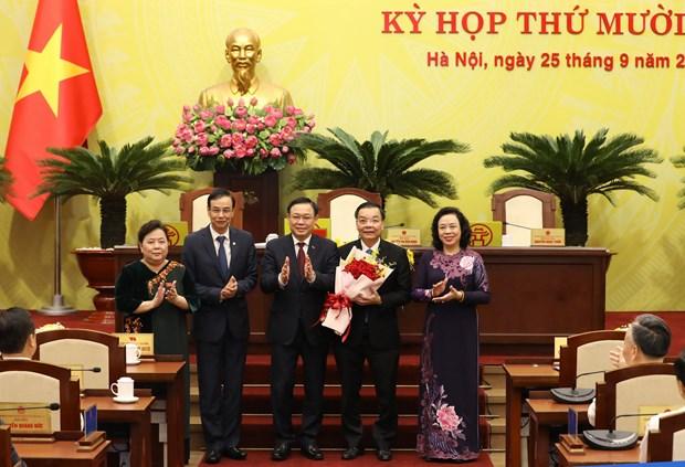 Hanoi has new Chairman hinh anh 1
